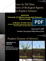 Implications of Biological Agents in Prunus Replant Disease