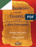 Harmoney of the Gospels in International Stardard Version Greek