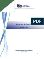 MEMO_Gestión2008-2012_20121019