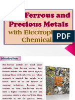 Non-Ferrous and Precious Metals with Electroplating Chemicals