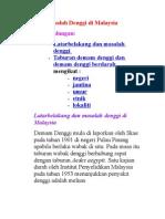 Masalah Denggi di Malaysia