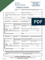 Pharmacy Invoice