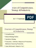 00Competitiveness Stratategy & Productivity