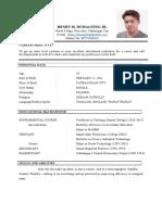 Chona Resume