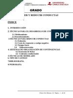 Tema 4. Mantener Conductas
