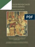 01 Los Concilios Provinciales en Nueva España. Reflexiones e Influencias (Portada e Índice)