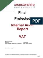 VAT Report Pub