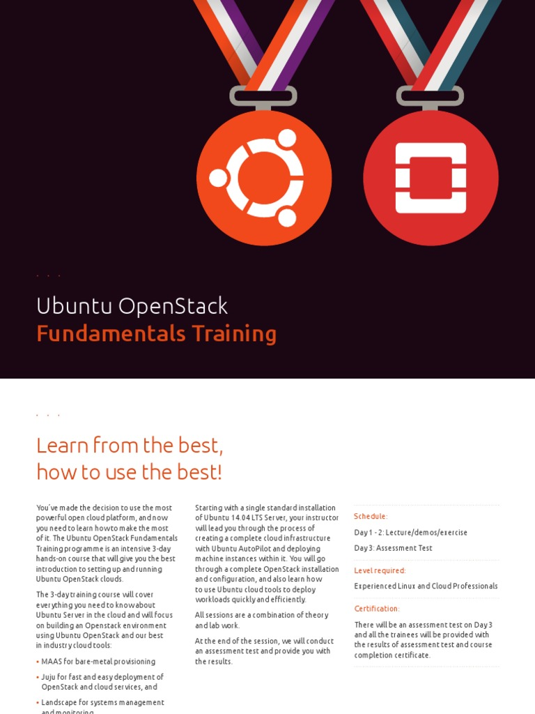 Ubuntu Openstack Fundamentals Training Open Stack Ubuntu