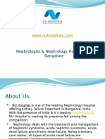 Nephrologist & Nephrology Hospital in Bangalore