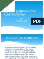 Sejarah Jembatan Dan Klasifikasinya