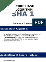 SECURE HASH ALGORITHM (SHA 1).pptx