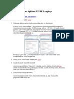 Cara Menjalankan Aplikasi UNBK Lengkap