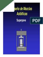 J.- Diseño de Mezclas Asfálticas Superpave