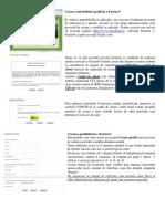 E-Factura Instructiuni Activare Cont