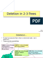 Two 3 Trees Deletion