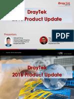 DrayTek 2016 Product Update