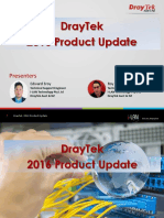 DrayTek 2016 Product Update