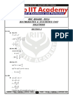 HSC Board Maths Paper 01-03-2014