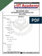 HSC Board Maths Paper 01-03-2014