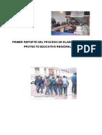 Primer Reporte Proceso PER - Incluido Informe de Provincias