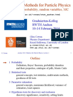 Cowan_aachen14_1_Statistical Methods for Particle Physics