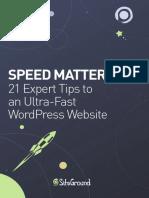 Optimize WordPress Speed