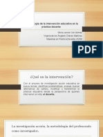 Metodología de La Intervención Educativa en La Práctica 17 09 16