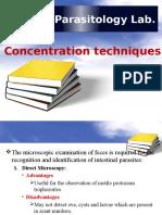 3 Concentration Techniques Sedimentation