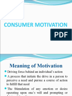 6th Topic-consumer Motivation