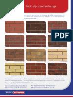 Brickshield Standard Colour Range Sec