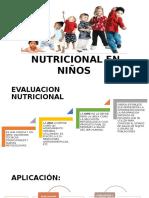 Evaluacion Nutricional en Niños