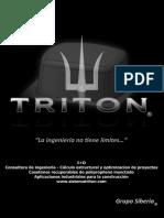 Brochure Triton 2015