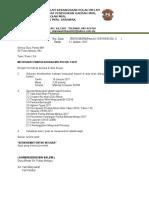Surat Panggilan Mesyuarat Panitia BM