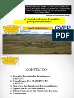 Gvep Turismo Vivencial Cer Uni 2012