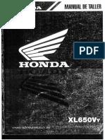 Honda Transalp 650 Manual de Taller Español