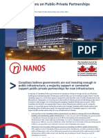 Views of Canadians on Public-Private Partnerships