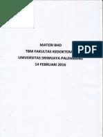 Materi Basic Life Support 14 Februari 2016