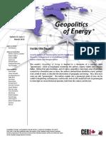 Geopolitics of Energy - March 2015