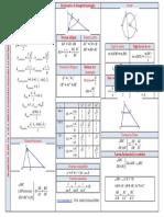 Teorie Evaluare Nationala Geometrie Plana