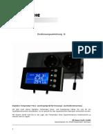 Manual de ussuario Aquamedic Twin controller