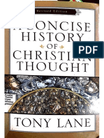 Tony Lane, A Concise History of Christian Thought (Conciliul de La Niceea)