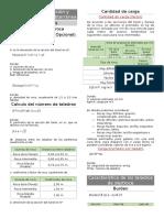 Formulas Perforación y Voladura Minería Subterránea