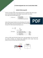Rangkuman Induksi Elektromagnetik Dan Arus Listrik Bolak