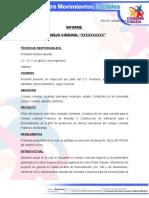 Modelo de Informes Proyectos 2017
