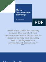 marine communications technology