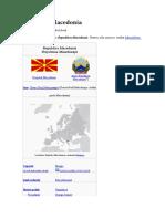 Republica Macedonia