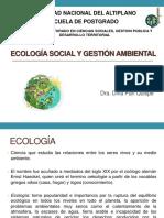 Ecología Social y Gestión Ambiental