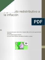 Significado Redistributivo a La Inflación