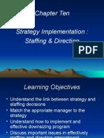 Ch 10 Strat Implementation 2