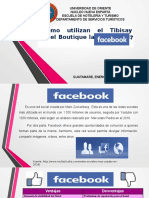 ¿Cómo el Tibisay Hotel Boutique utiliza la Red Social Facebook?